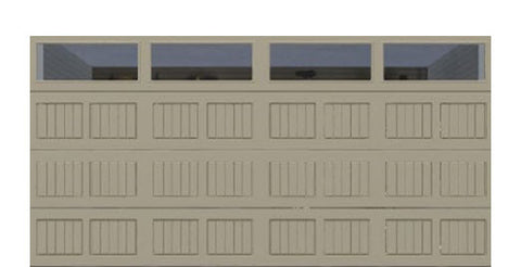 16' x 8' Thermacore Insulated Steel Garage Door (V5)
