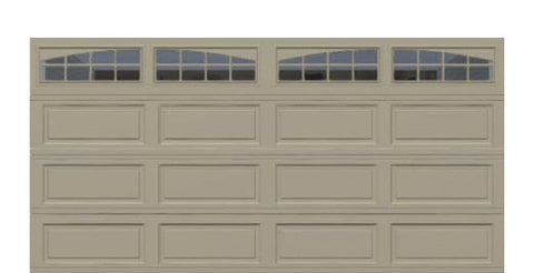 16' x 8' Thermacore Insulated Steel Garage Door (Long)