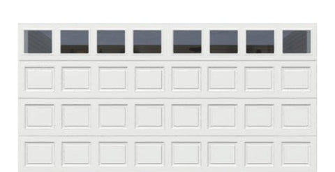 16' x 8' Thermacore Insulated Steel Garage Door (Standard)