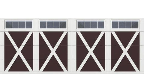 18' x 7' Courtyard 7560 (X) Arch Garage Door
