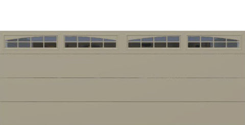 18' x 7' Thermacore Insulated Steel Garage Door (Flush)