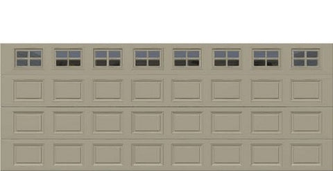 18' x 7' Thermacore Insulated Steel Garage Door (Standard)
