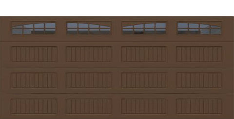 18' x 8' Thermacore Insulated Steel Garage Door (V10)