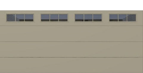 18' x 8' Thermacore Insulated Steel Garage Door (Flush)