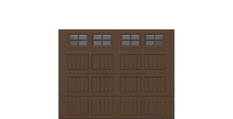 9' x 7' Thermacore Insulated Steel Garage Door (V5)