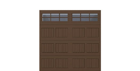 8' x 8' Thermacore Insulated Steel Garage Door (V5)
