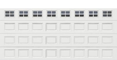 18' x 8' Traditional Steel Garage Door (Standard)