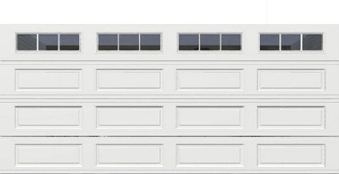 18' x 8' Thermacore Insulated Steel Garage Door (Long)