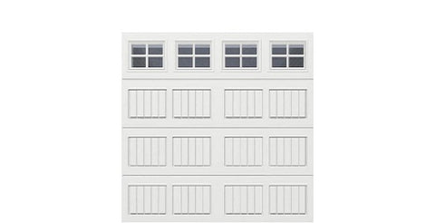 8' x 8' Thermacore Insulated Steel Garage Door (VS)