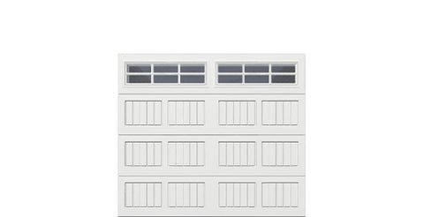8' x 7' Thermacore Insulated Steel Garage Door (V5)
