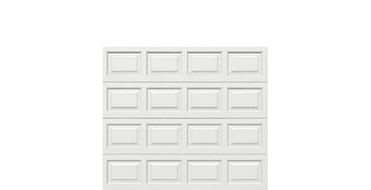 8' x 7' Traditional Steel Garage Door (Standard)