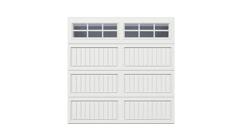 8' x 8' Thermacore Insulated Steel Garage Door (V10)