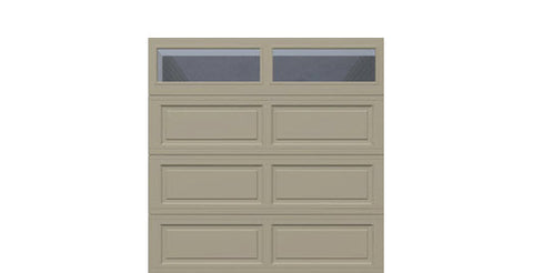 8' x 8' Thermacore Insulated Steel Garage Door (Long)