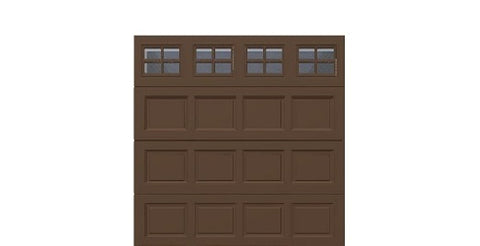 8' x 8' Thermacore Insulated Steel Garage Door (Standard)
