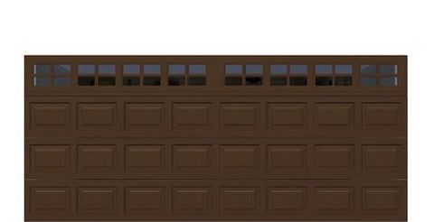 16' x 7' Traditional Steel Garage Door (Standard)