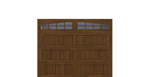 9' x 7' Thermacore Insulated Steel Garage Door (V10)