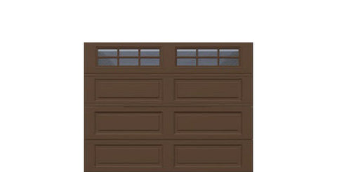 9' x 7' Traditional Steel Garage Door (Long)