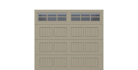9' x 8' Thermacore Insulated Steel Garage Door (V5)