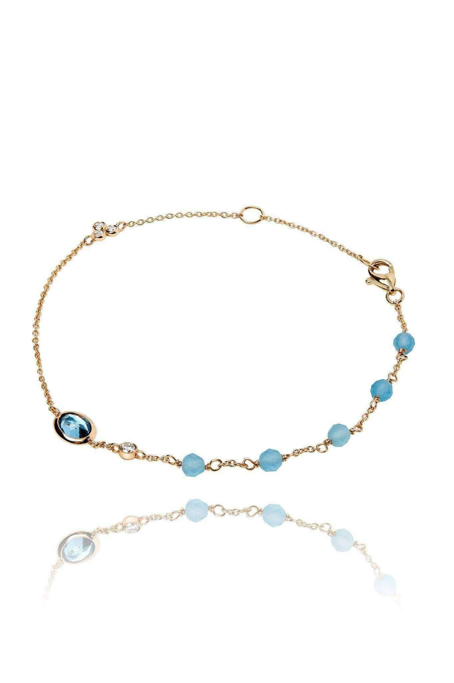 Dune Blue Ellipse Bracelet Bracelets Lark and Berry