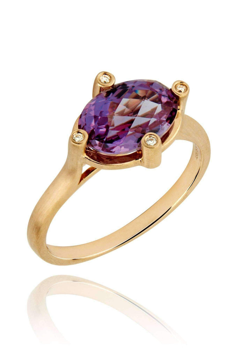 Dune Purple Sapphire Ring Rings Lark and Berry US(7 1/4)