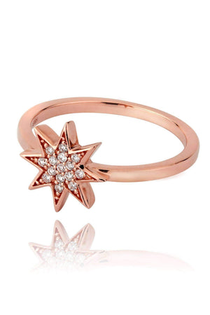 Star Diamond Pavé Ring Rings Lark and Berry
