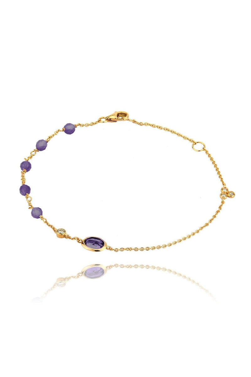 Dune Purple Ellipse Bracelet Bracelets Lark and Berry