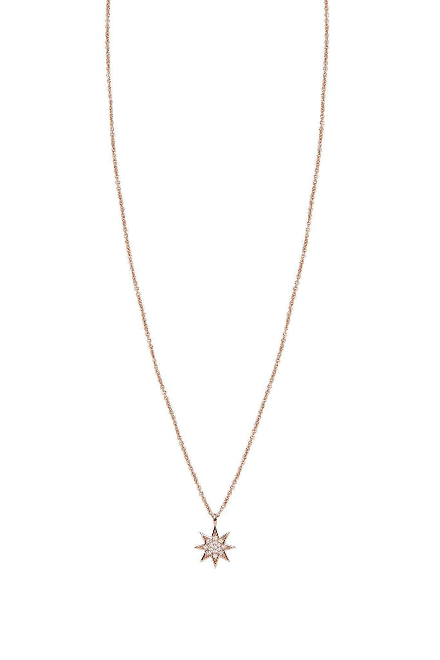 Star Diamond Pavé Pendant Necklaces Lark and Berry