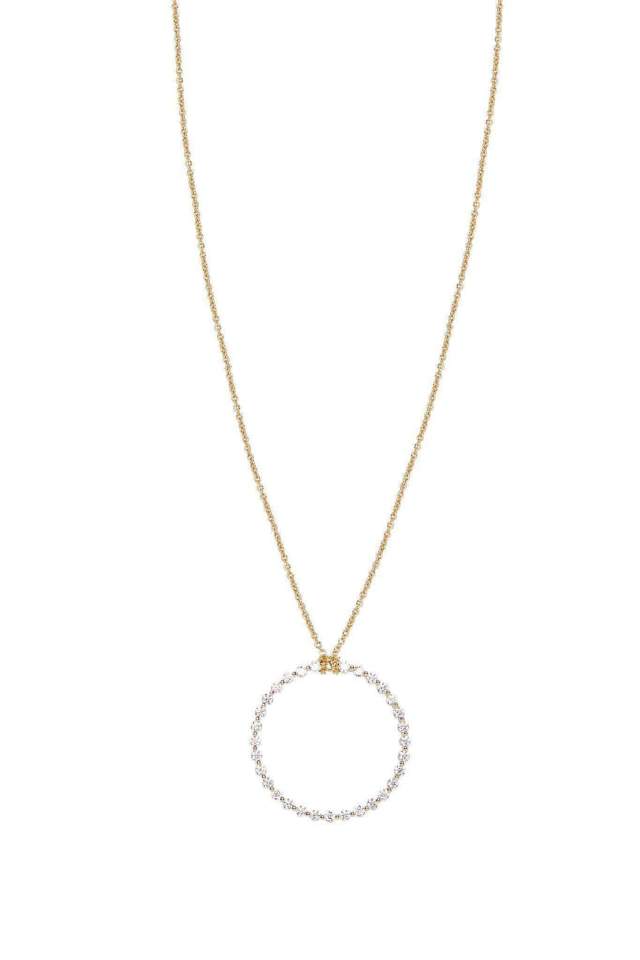 Modernist Diamond Pendant Necklaces Lark and Berry