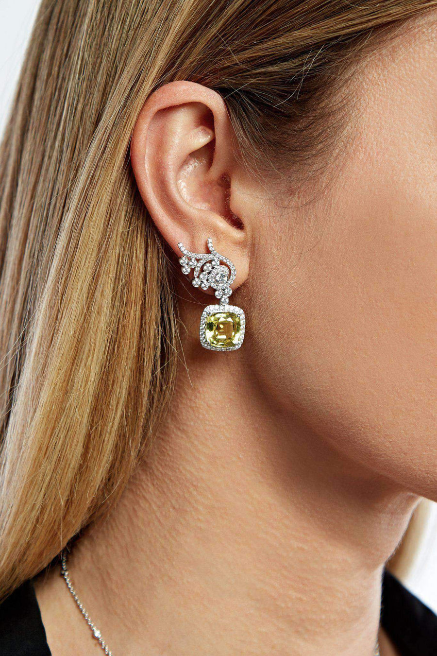 Flora Diamond Earrings (without detachable drops) Earrings Lark and Berry