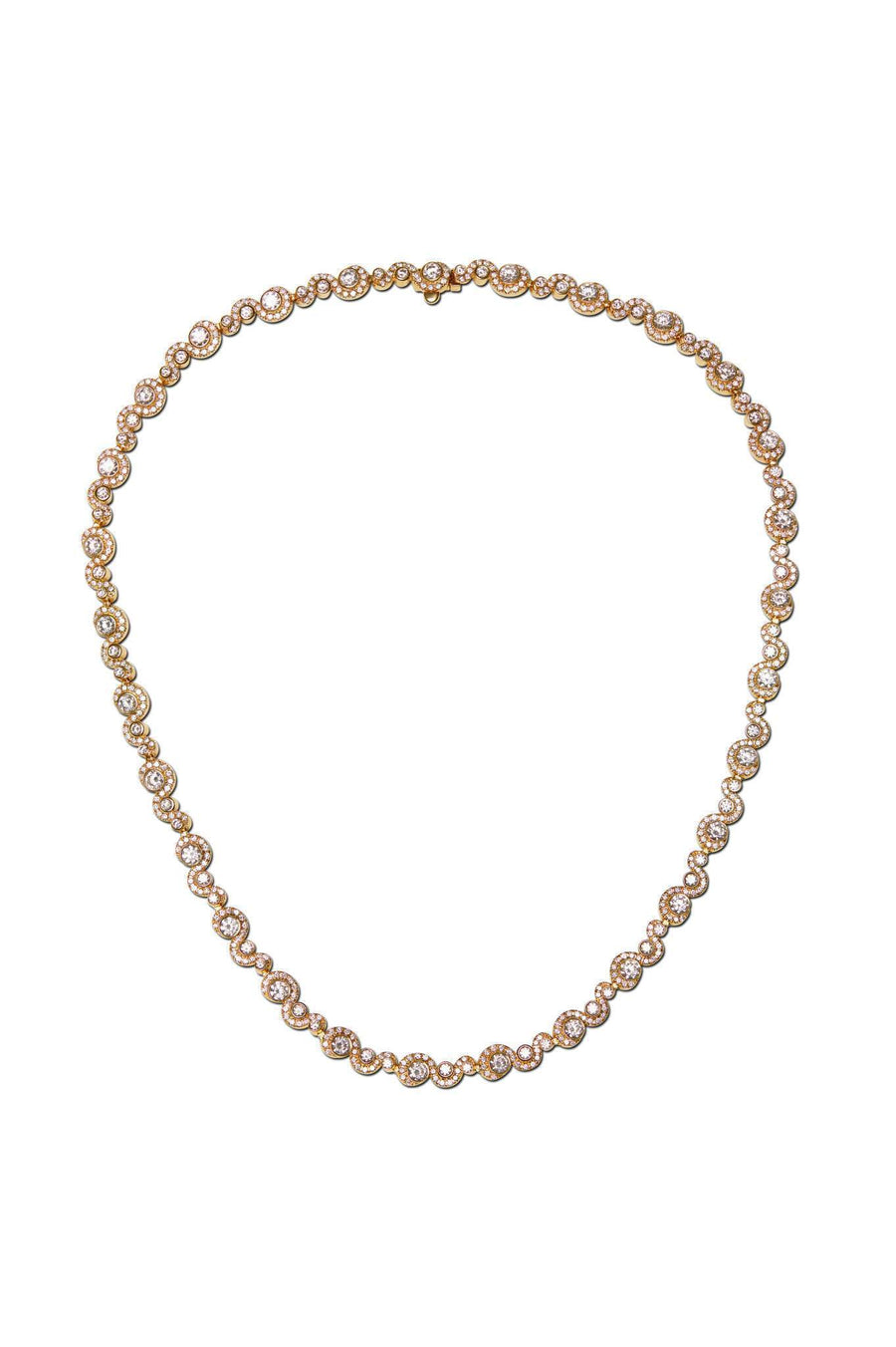 Wave Diamond Necklace Necklaces Lark and Berry