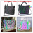 Geometric Luminous Purses and Handbags Shard Lattice Eco-Friendly Artificial Leather Rainbow Holographic Purse - iSagax