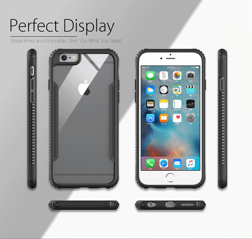iPhone Case Silicone Case with Glass Screen for iPhone 6/6 Plus/7/7 Plus/X
