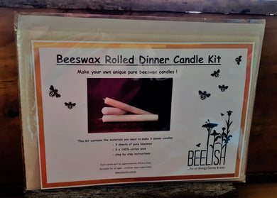 Make your own Rolled Beeswax Candles Kit