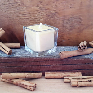 Beeswax Cinnamon Candle - 5 cm square