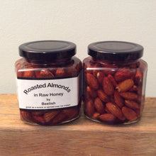 Roasted Almonds in Raw Honey - 330g