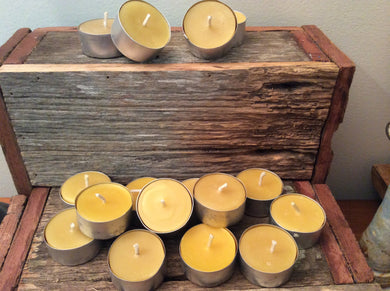 4 hr Beeswax Tealight - Pack of 6