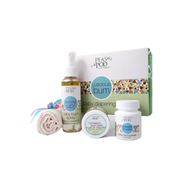 Gift Set - Baby Diapering Kit - 100% Natural
