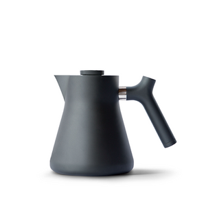 Fellow - Raven Stovetop Kettle + Tea Steeper Matte Black