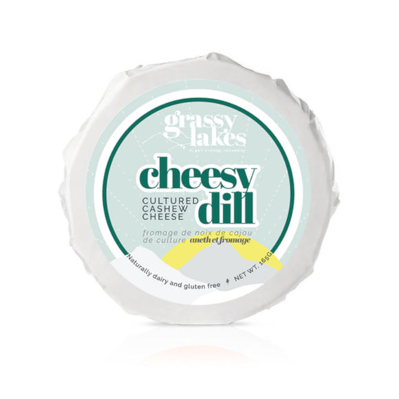 Grassy Lakes - Dill Cultured Cashew Cheese - 165g
