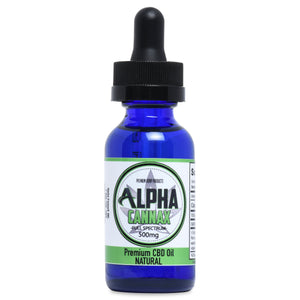 CBD Hemp Oil 500mg - Full Spec