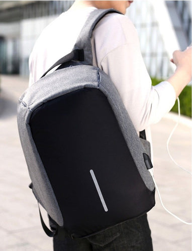Anti-Theft USB Charging Backpack