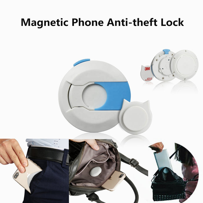 Anti-Loss Magnetic Pocket Lock