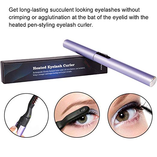 Portable Electric Heated Eyelash Curler