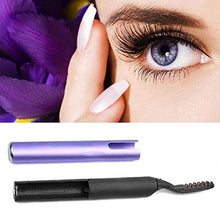 Load image into Gallery viewer, Portable Electric Heated Eyelash Curler