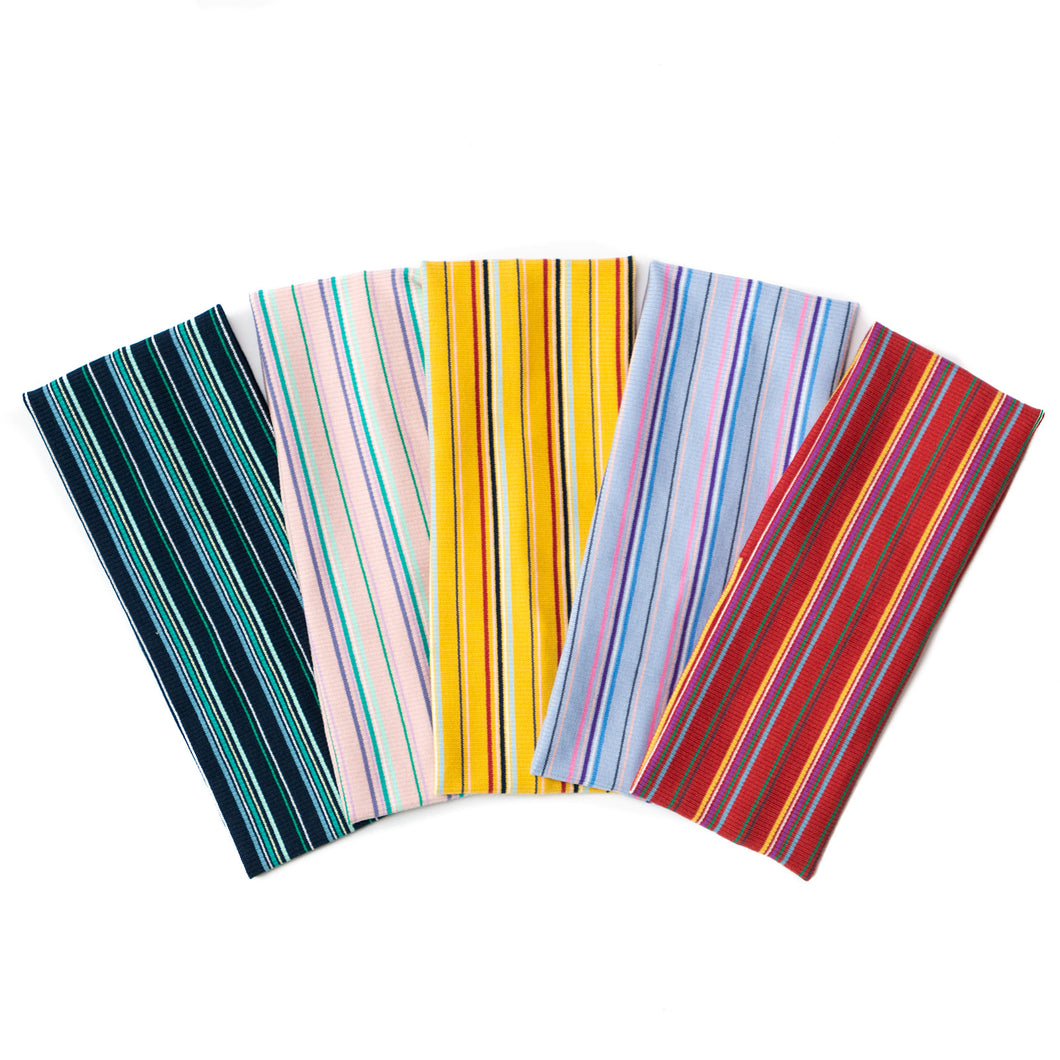 The Candy Striped Headbands (Standard Width)