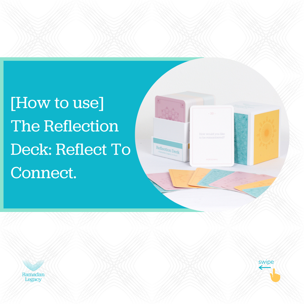 [How To Use] The Reflection Deck: Reflect To Connect.