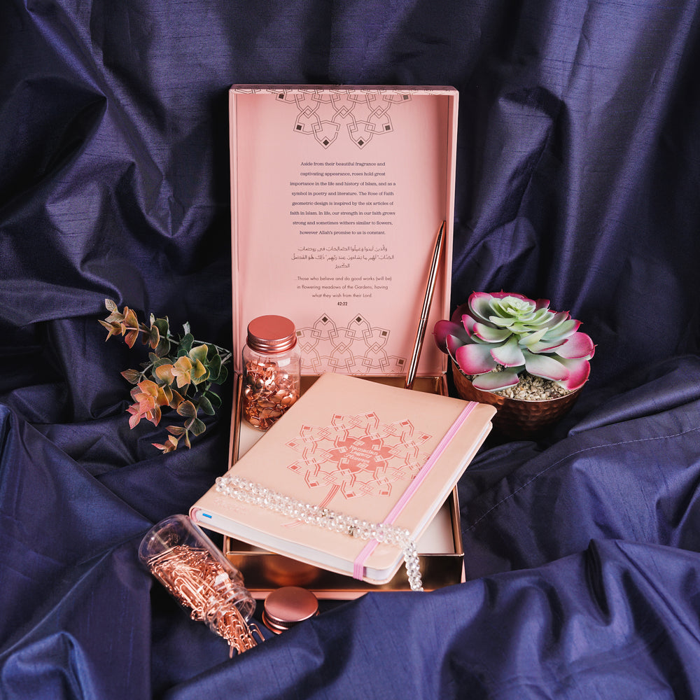 Ramadan Legacy Planner Set: Planner, Pen & Limited Edition Box