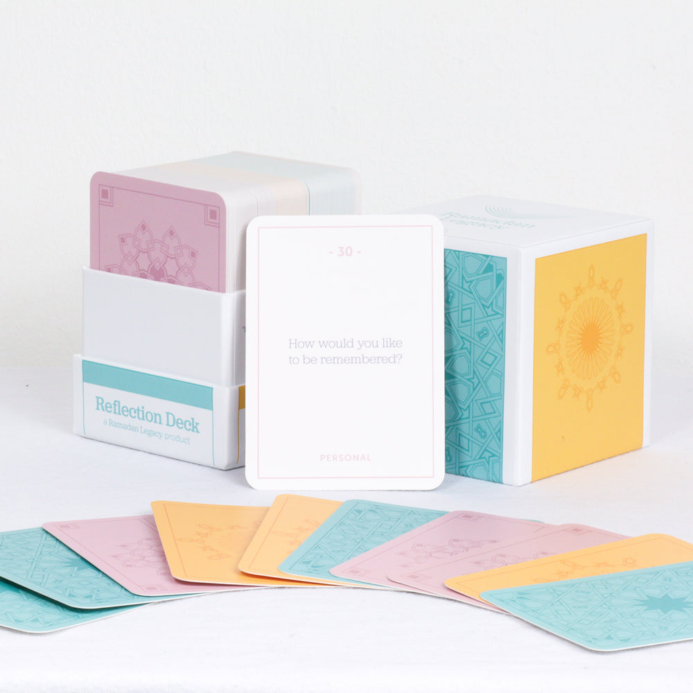 Muslim Reflection Card Deck