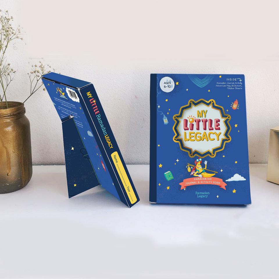 My Little Legacy: Ramadan Kids Journal & Activity Book