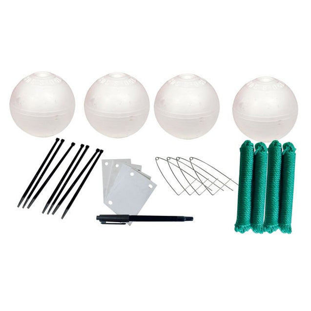 Jarvis Walker Net Factory Crabbing Accessory Kit (150mm Floats)